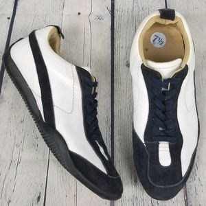 FLY LONDON | suede leather lace-up sneakers